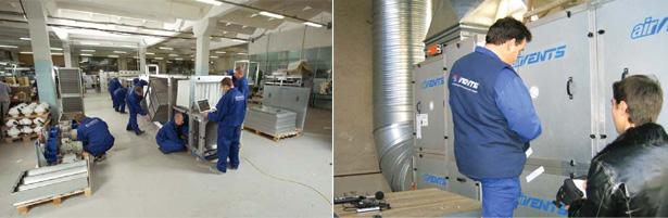 Приточно-вытяжные установки AirVENTS с индивидуальной системой автоматики